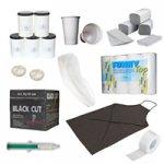 Verbrauchsmaterial und Studioausstattung