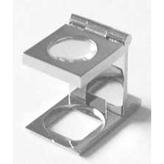 Magnifier 12X stainless steel