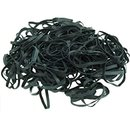 Rubber bands 4mm black approx.50