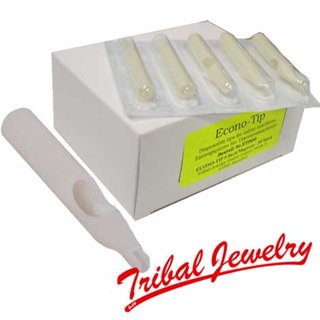 Disposable Tattoo Tip ECONO-TIP 11 flat/Magnum