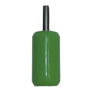 Silicone grip steel insert 26mm green