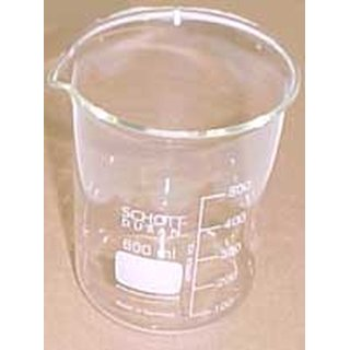 Beaker without lid for Elma T-310/S10